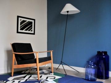 Fauteuil scandinave vintage maison simone nantes