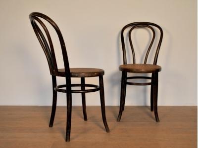 Chaise thonet 218 bistrot vintage maison simone nantes - Chaise de bistrot vintage ...