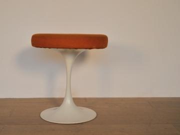 Tabouret Arkana orange design vintage maison simone nantes