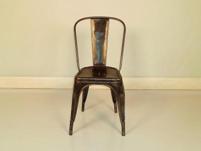 tolix chaise cool chaise de style industriel avec accoudoirs en acier ac by chantal andriot. Black Bedroom Furniture Sets. Home Design Ideas
