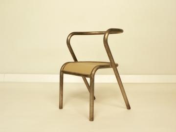 chaise gascoin acier