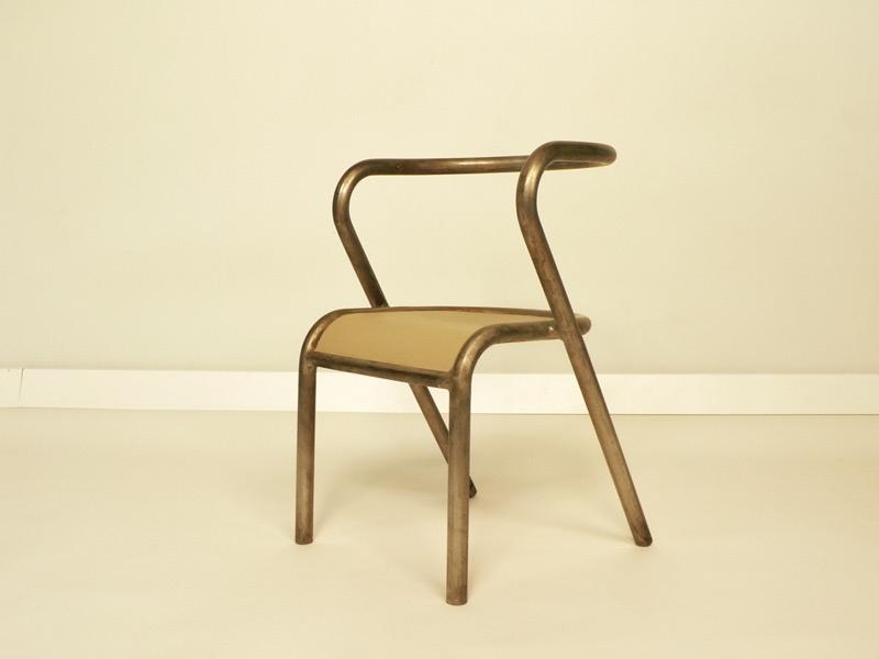 Gascoin chaise enfant metal for Chaise acier