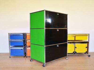 armoire USM noire