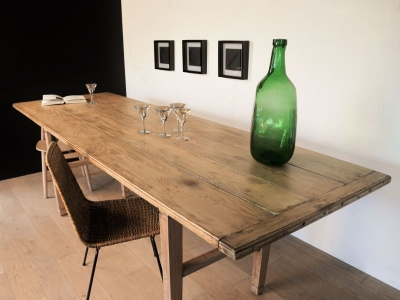 Table à manger vintage