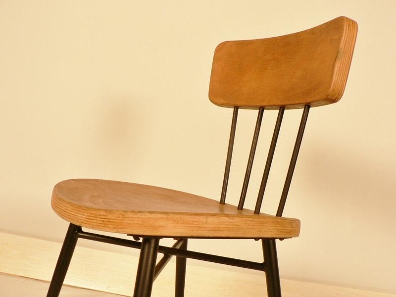chaise ann e 50. Black Bedroom Furniture Sets. Home Design Ideas