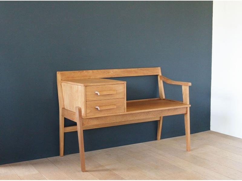 banc d 39 entr e vintage ann es 60 maison simone nantes. Black Bedroom Furniture Sets. Home Design Ideas