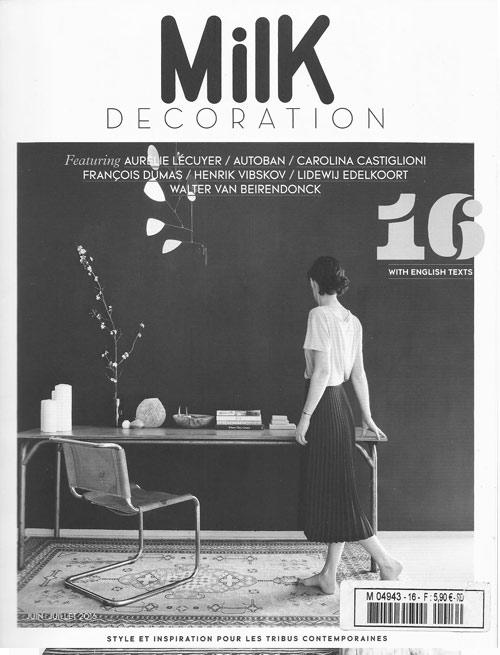 Milk décoration Juin 2016