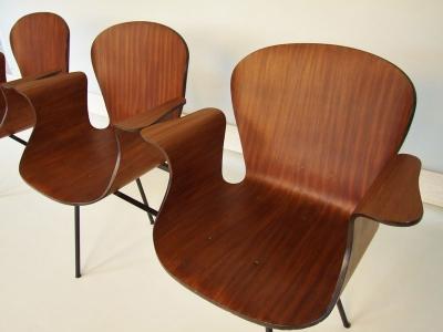 banquette 3 sièges de Piero Gatti