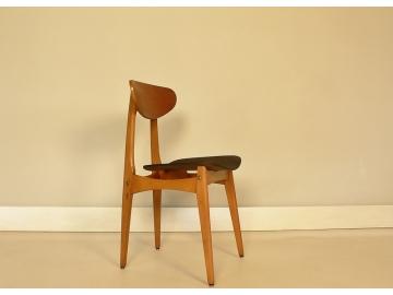 lot de 4 chaises stella design scandinave