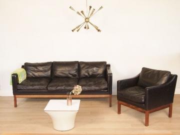 canapé et deux fauteuils ekstrom