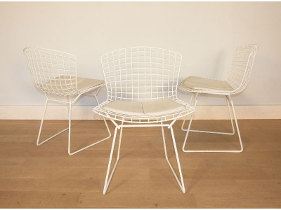 chaise bertoia vintage
