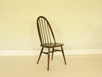 lot de 4 chaises ercol modèle quaker