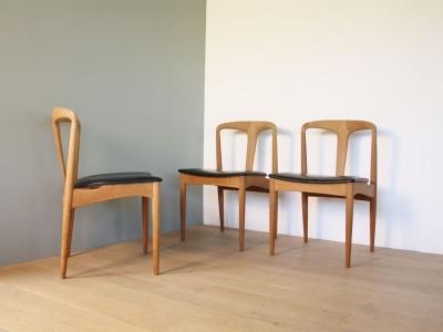 Chaise Juliane Johannes Andersen design vintage scandinave maison simone nantes