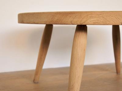 Table basse ronde vintage style perriand nantes deco maison simone