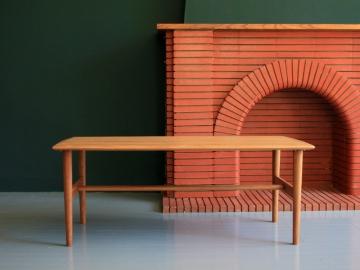 Table basse scandinave vintage maison simone nantes paris la baule