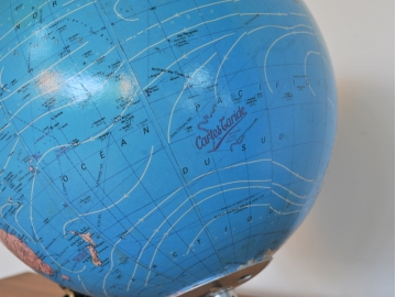 globe terrestre vintage Taride déco maison simone nantes paris