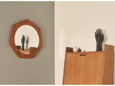 Miroir vintage 50 teck