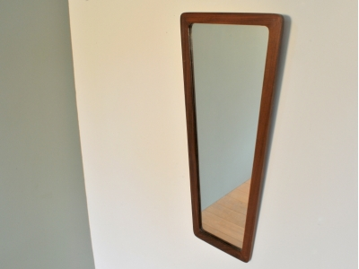 Miroir vintage Trapèzoïdal année 50 60 maison simone nantes