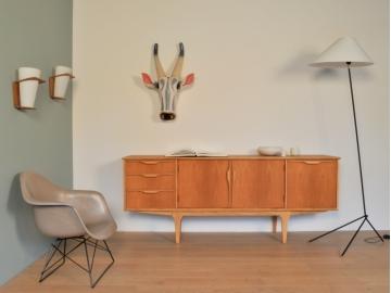 enfilade scandinave vintage teck clair maison simone nantes