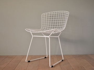 chaise wire bertoia vintage