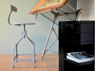 chaise atelier baleine nicole vintage industriel maison simone nantes