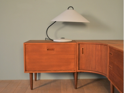 Lampe design italien année 70 80 maison simone nantes