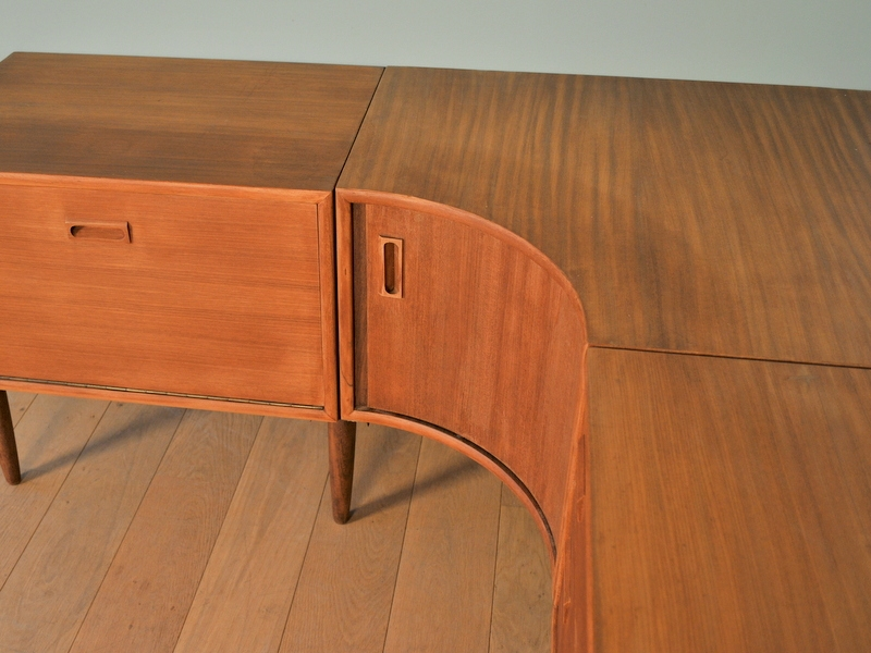 meuble enfilade angle design scandinave