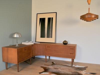 Meuble enfilade angle scandinave design vintage maison simone nantes