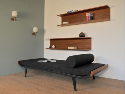 daybed banquette vintage cleoplatra Auping maison simone nantes