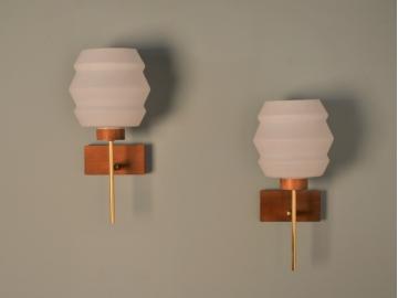Appliques vintage opaline design scandinave maison simone nantes