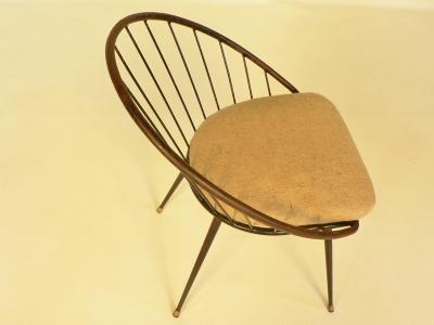 chaise berceau années 50